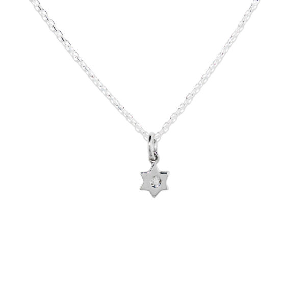 Colgante STAR con diamante